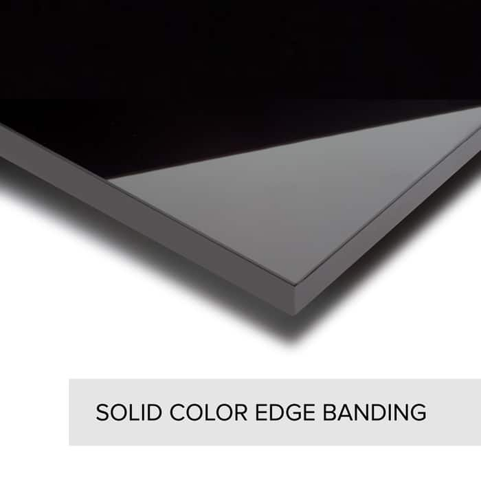 Solid Color- Edge Banding