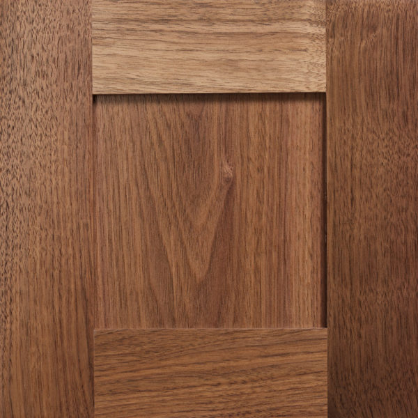 Walnut Shaker Solid Wood Cabinet Fronts for IKEA Systems